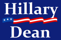 Clinton-Dean Campaign Logo
