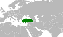 Location of Turkey (Myomi)