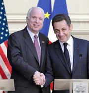 President McCain Sarkozy