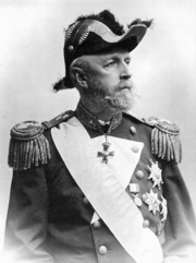 King Oscar II of Sweden in uniform