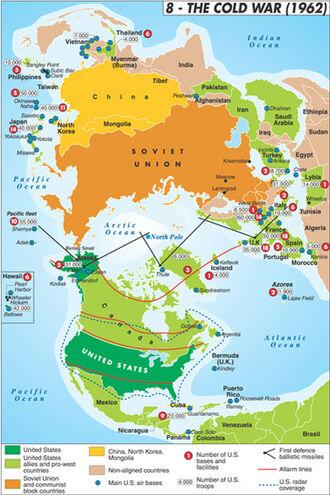 Map cold war