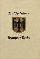 Weimar Constitution