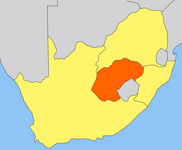 File:Orange Free State map.png