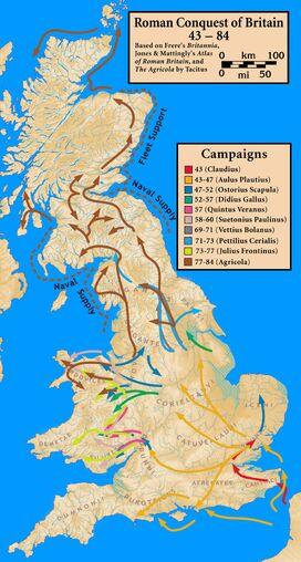 Roman conquest of Britannia