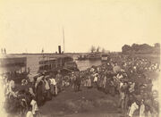 British forces arrival mandalay1885