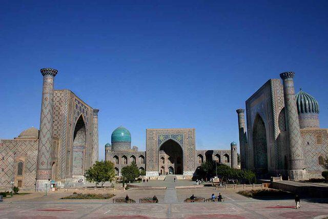 File:Registan - Samarkand - 15-10-2005.jpg