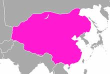 Empire of China location
