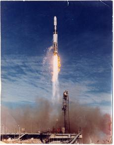 Blue-streak-launch-at-woomera