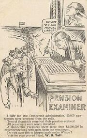 PostcardTaftPensionExaminer1912