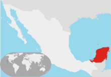 Location Republic of Yucatan (1841-1848)