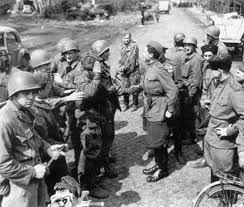File:German and American troops meeting in Central USSR in Mid 1940's..jpg