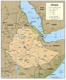 220px-Ethiopia Map