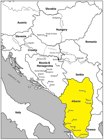 File:Map of Albania.png