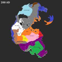 Pangea 200 AD