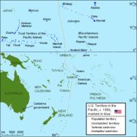 USA provisional territory