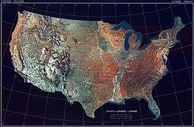 USA(TopographicalMap)