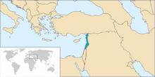 Map Mandate of Levant (TNE)
