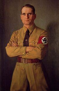 Portrait of Rudolf Hess