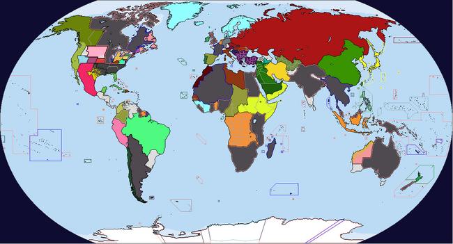 Diversa Pars Map Game 1933 Map