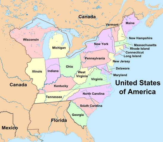 File:Coloured States of America (Montcalm Survives).png