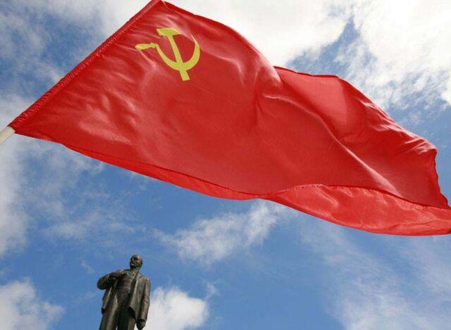File:Flag and Lenin (New Union).jpg