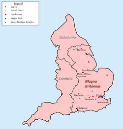 Magna Britannia Map
