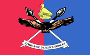 Flag of the Zimbabwe Defence Forces