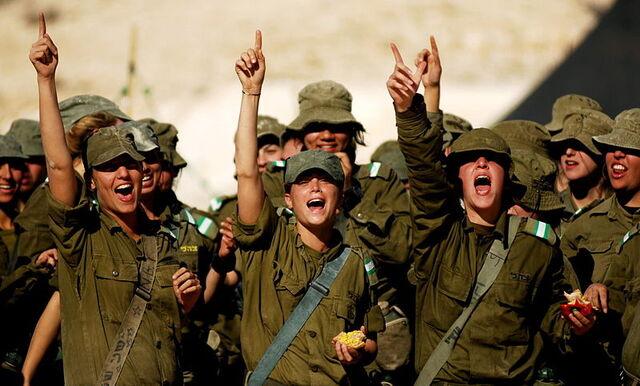 File:Flickr - Israel Defense Forces - Soldiers Raising Morale.jpg