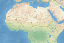 Map of the Sahel