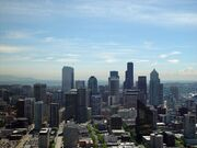 Seattle skyline day