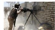 Saudi troops in combat with Saudi rebels