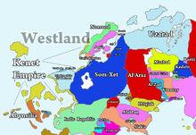 Map Westland