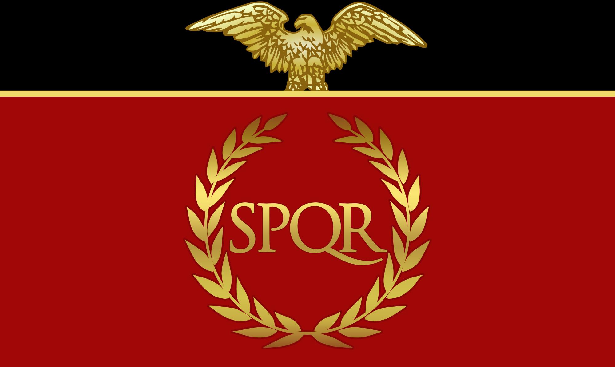 Image Rome Flag Spqr Png Alternative History Fandom