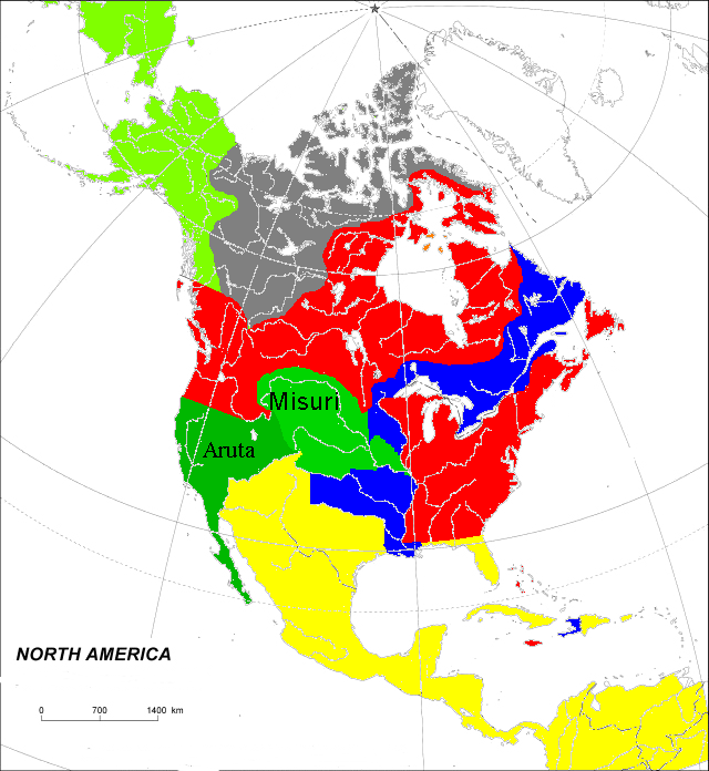 North America before GW2 (Toyotomi)