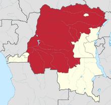 Location of Tshuapa