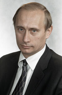 RIAN archive 100306 Vladimir Putin, Federal Security Service Director
