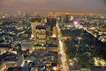 Vista-noturna-Cidade-do-México