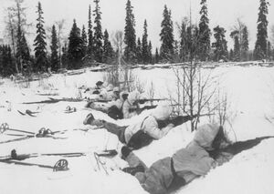 Finn ski troops