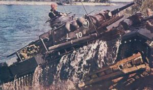 Swimming Panzer III