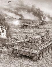 Tigers at Kursk
