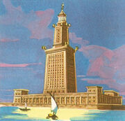 Lighthouse of Alexandria (Sketch)
