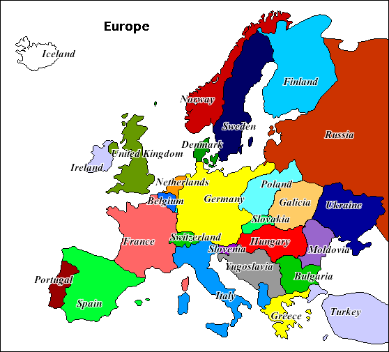 Image EuropeCPWpng Alternative History – Map of Europe Today