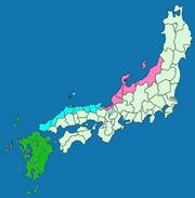 Hokurikudo and San'indo