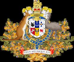Coat of arms of Cygnia