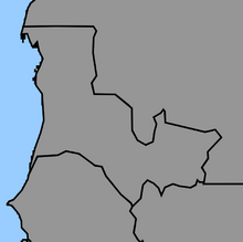 Map of Mauritania (1861 HF)