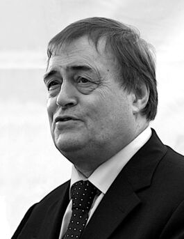 John Prescott on his last day as Deputy Prime Minister, June 2007