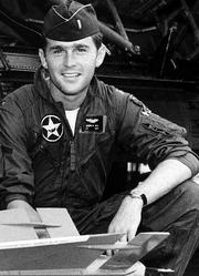 President McCain Bush Texas Air National Guard