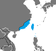 Location of Republic of Taiwan (Nuclear Apocalypse)