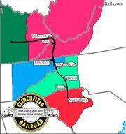 Clinchfield-railroad-map