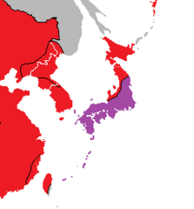Location of West Japan (Nuclear Apocalypse)